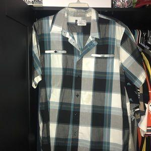Paid Button Down Shirt